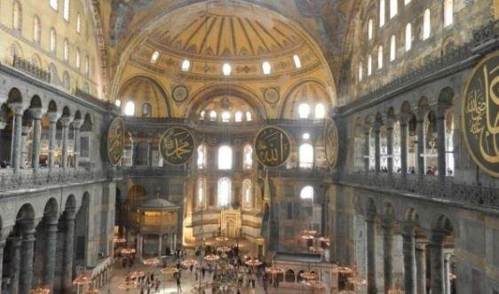 """Църквата \""""Св. София\"""" в Истанбул ще бъде превърната в джамия ..."""
