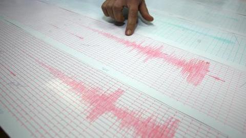 Земетресение с магнитуд 7,2 е регистрирано днес в североизточната част