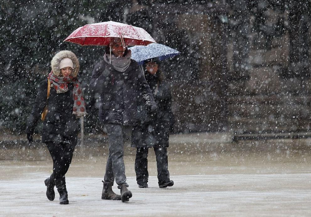 Предупреждение за съществени валежи и от дъжд, и от сняг,