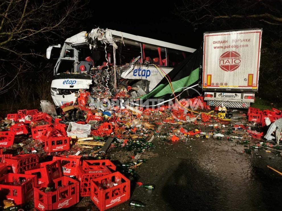Тежък инцидент e станал на пътя София - Варна, край
