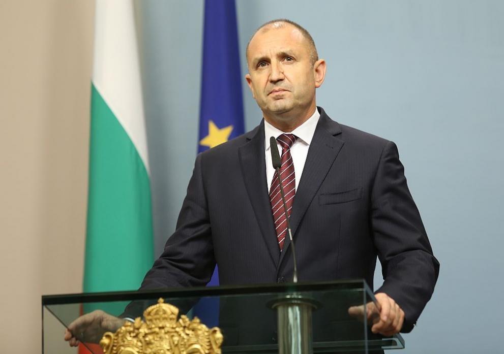 Държавният глава на Република България Румен Радев направи обръщение към