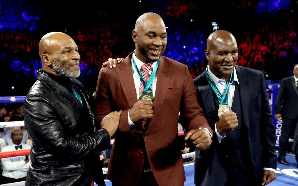 Бившият световен шампион по бокс в тежка категория Майк Тайсън