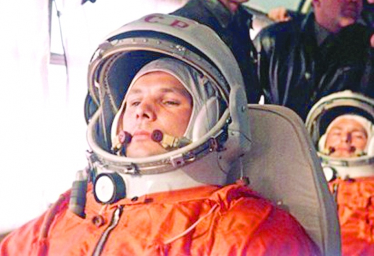 Юрий Гагарин стана първият човек, полетял в космоса, на 12