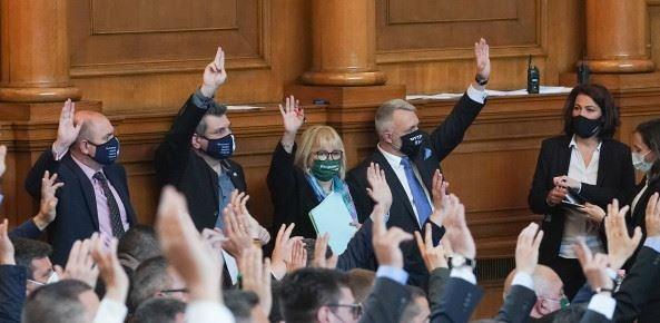 Във втория работен ден на 45-ото Народно събрание народните представители