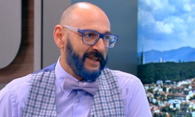 Кандидат-министърът на туризма от ГЕРБ Любен Дилов-син направи обръщение към
