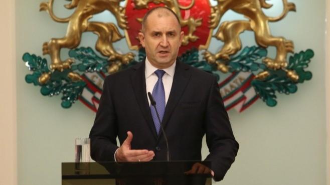 Президентът Румен Радев утвърди правилата за провеждане на публични консултации