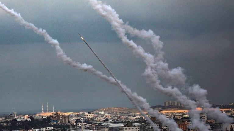 Около 150 ракети са били изстреляни вчера от ивицата Газа