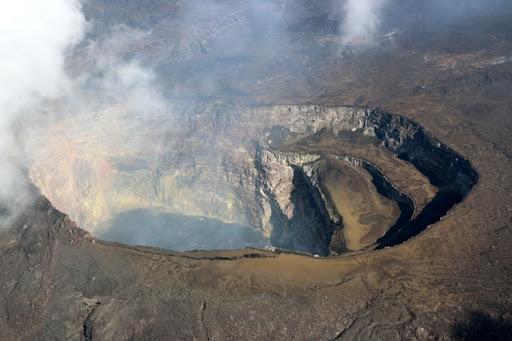 Вулкан изригна близо до град Гома в източната част на