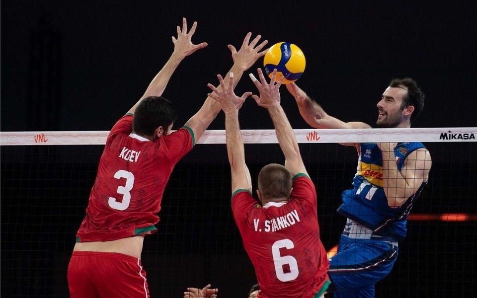 Мъжкият национален отбор по волейбол на България допусна нова унизителна