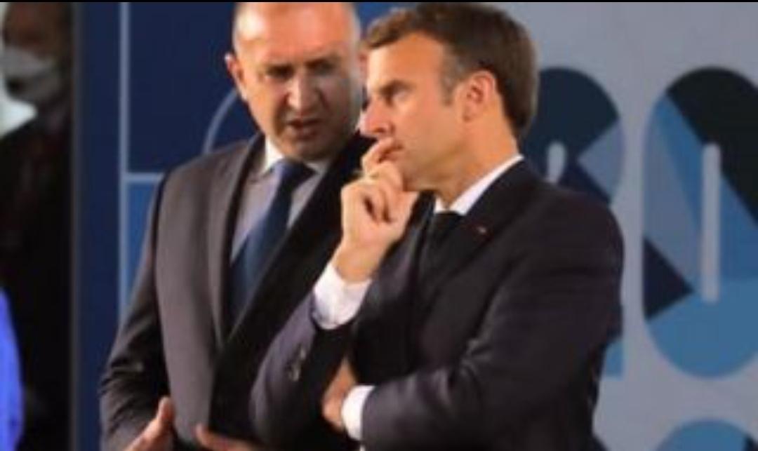 Разговор с президента на Френската република Еманюел Макрон по време
