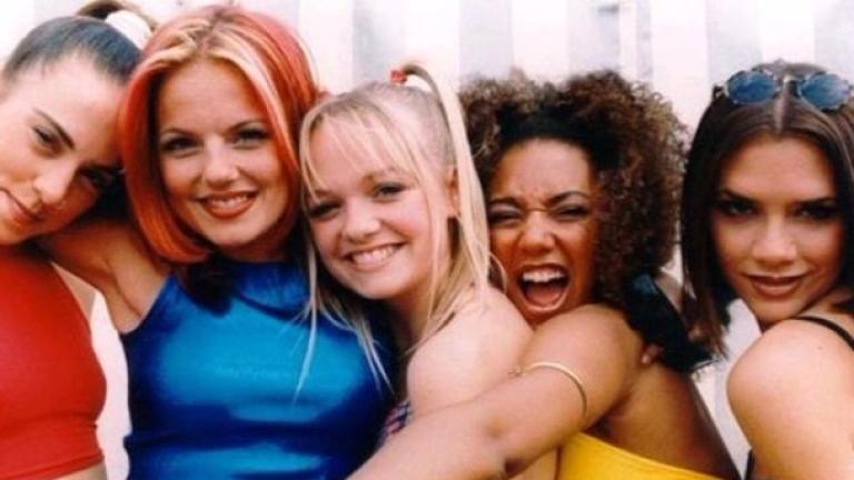 """Преди 20-тина години култовата британската момичешка група """"Спайс Гърлс"""" буквално"""