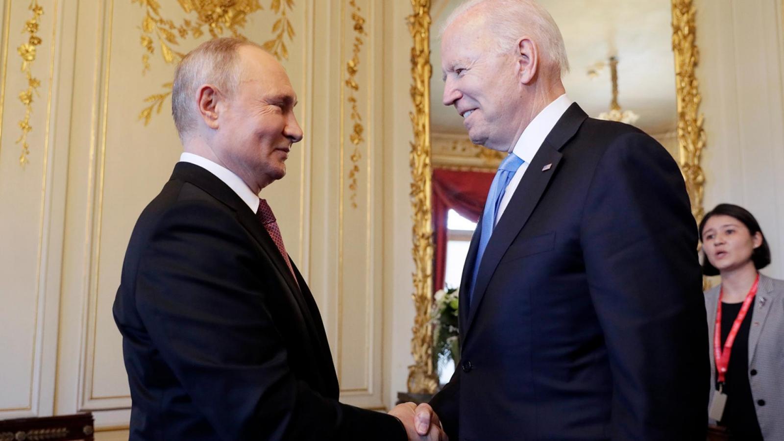 Срещата между президентите на САЩ и на Русия Джо Байдън