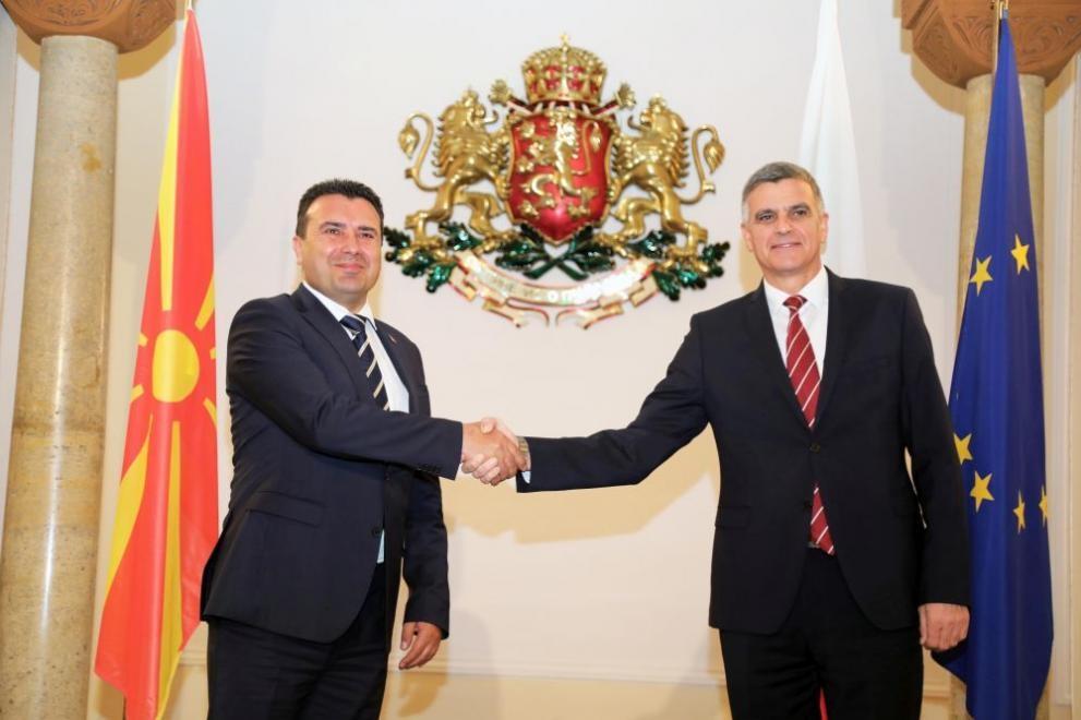 Министър-председателят Стефан Янев се срещна с премиера на Република Северна