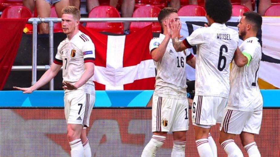 Отборът на Белгия постигна обрат и спечели с 2:1 срещу