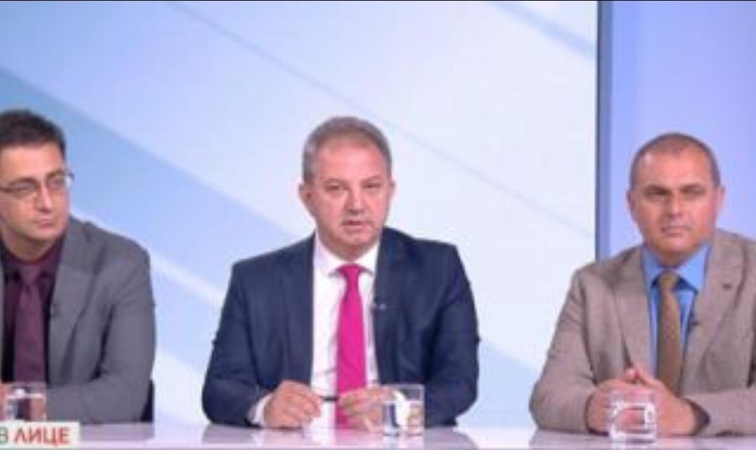 """Представители на трите партии, които формират коалиция """"Български патриоти"""" –"""