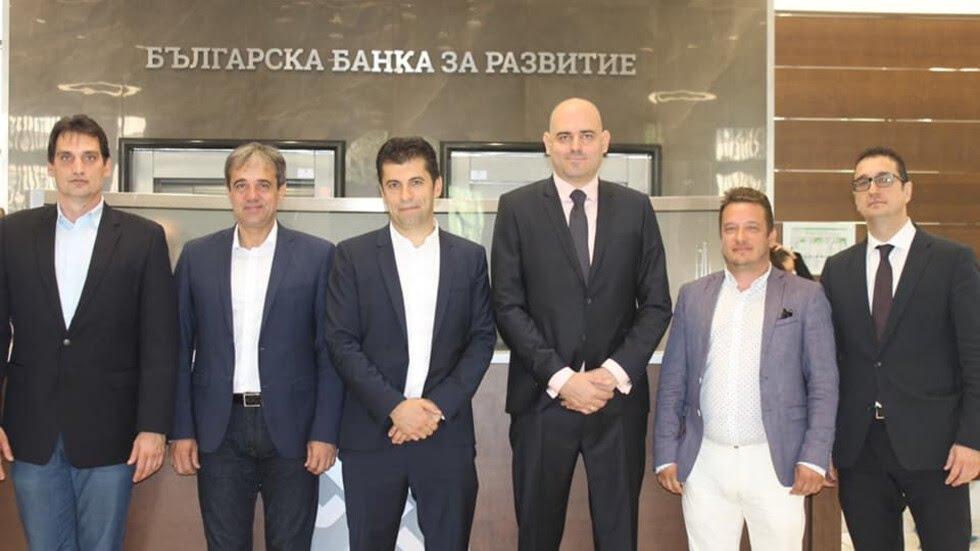 Министърът на икономиката Кирил Петков представи пред работещите в Българската