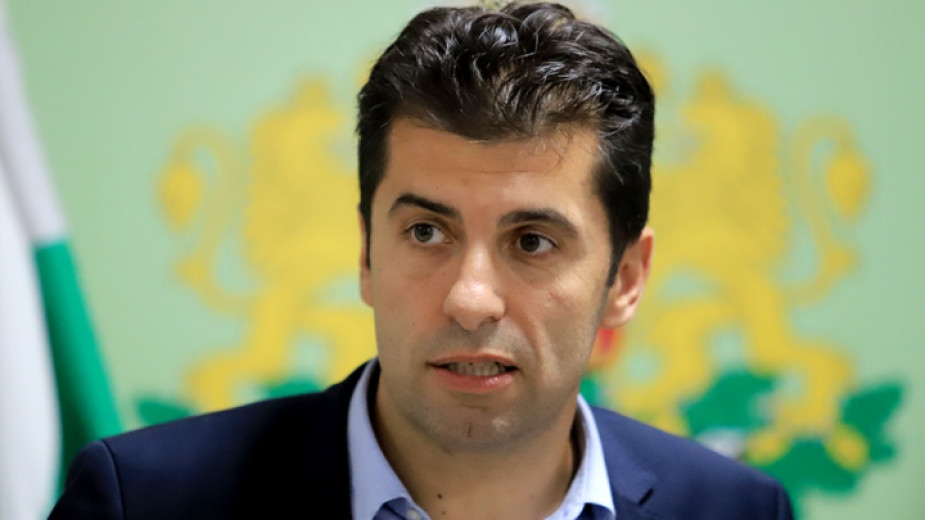 """Представляващият коалиция """"Продължаваме промяната"""" Кирил Петков обясни пред БНТ, че"""