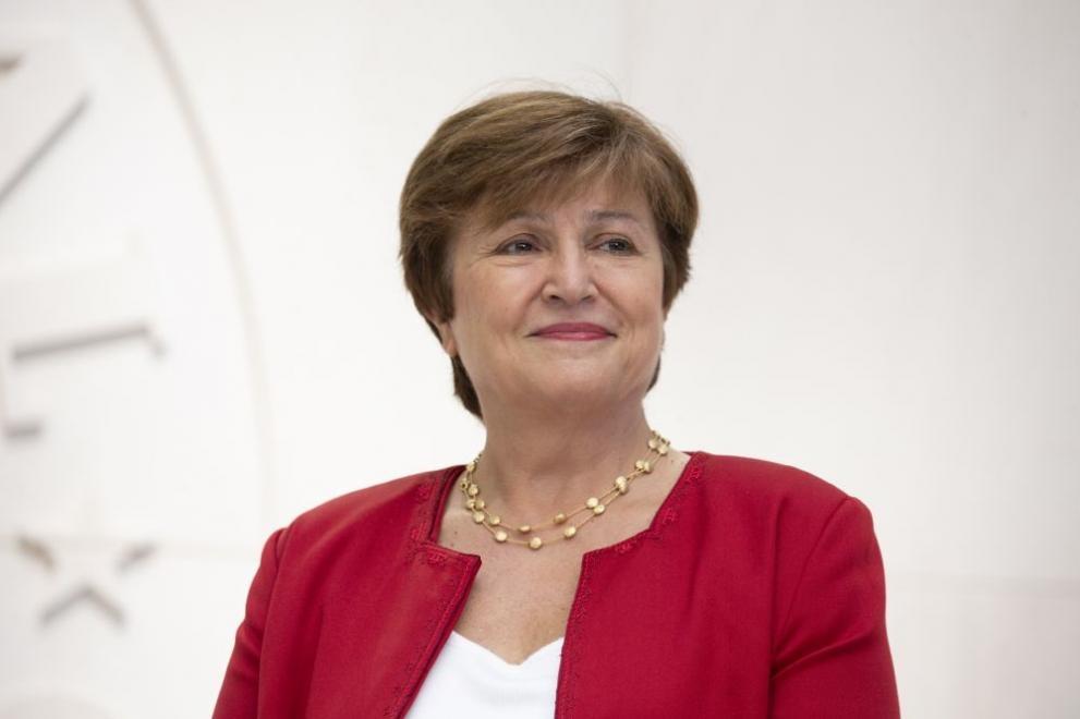 Управляващият директор на Международния валутен фонд Кристалина Георгиева заяви, че
