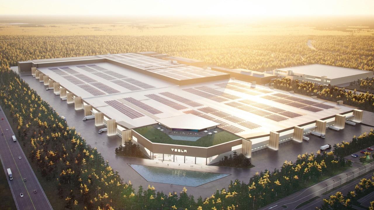 Съвсем скоро фабриката на Tesla в Германия ще заработи и