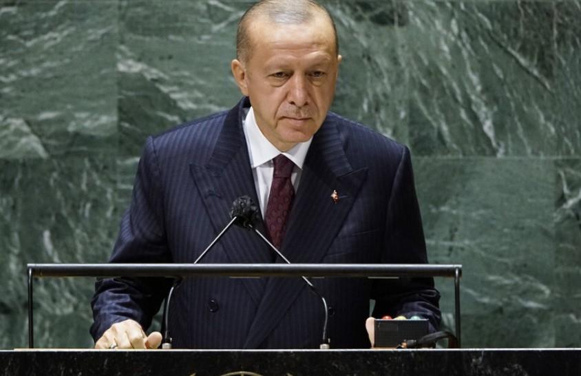 Заплатата на турския президент Реджеп Тайип Ердоган през 2022 г.се